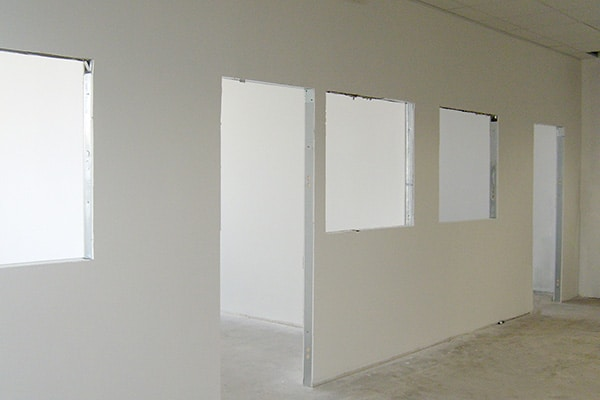 Realizzazione pareti cartongesso 01