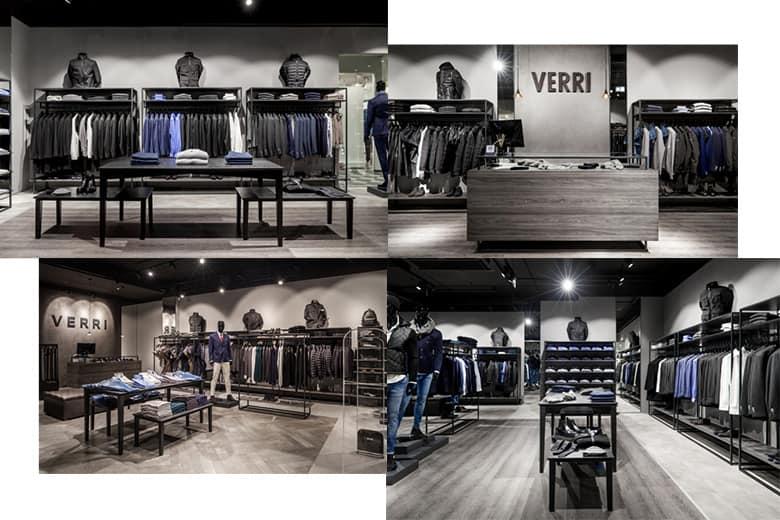 Ristrutturazione negozi per Verri